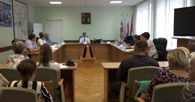 Глава округа Александр Сергиенко встретился своинами-интернационалистами