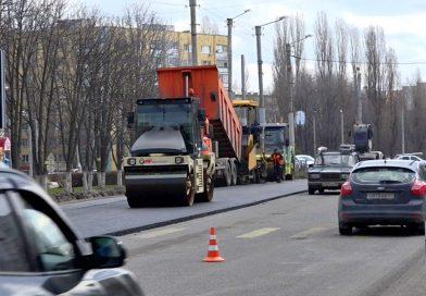 Масштабный ремонт старооскольских магистралей начался спроспекта Губкина