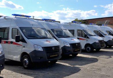 Долгожданное пополнение. 16 новых автомобилей скорой помощи прибыли в Старый Оскол