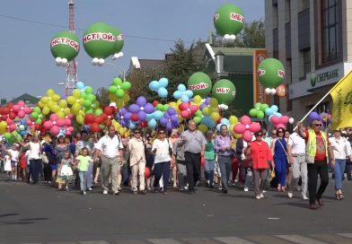 Более 8 тысяч старооскольцев приняли участие в праздничном шествии