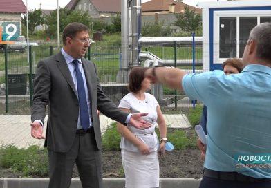 Мэр жестко отчитал подрядчиков строительства новых детсадов и школы